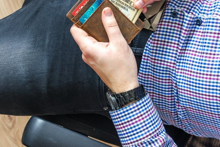 dompet wallet pria